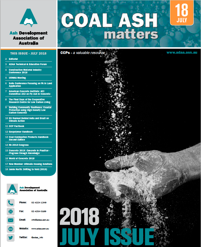 Coal Ash Matters   ADAA   Ash Development Association of Australia
